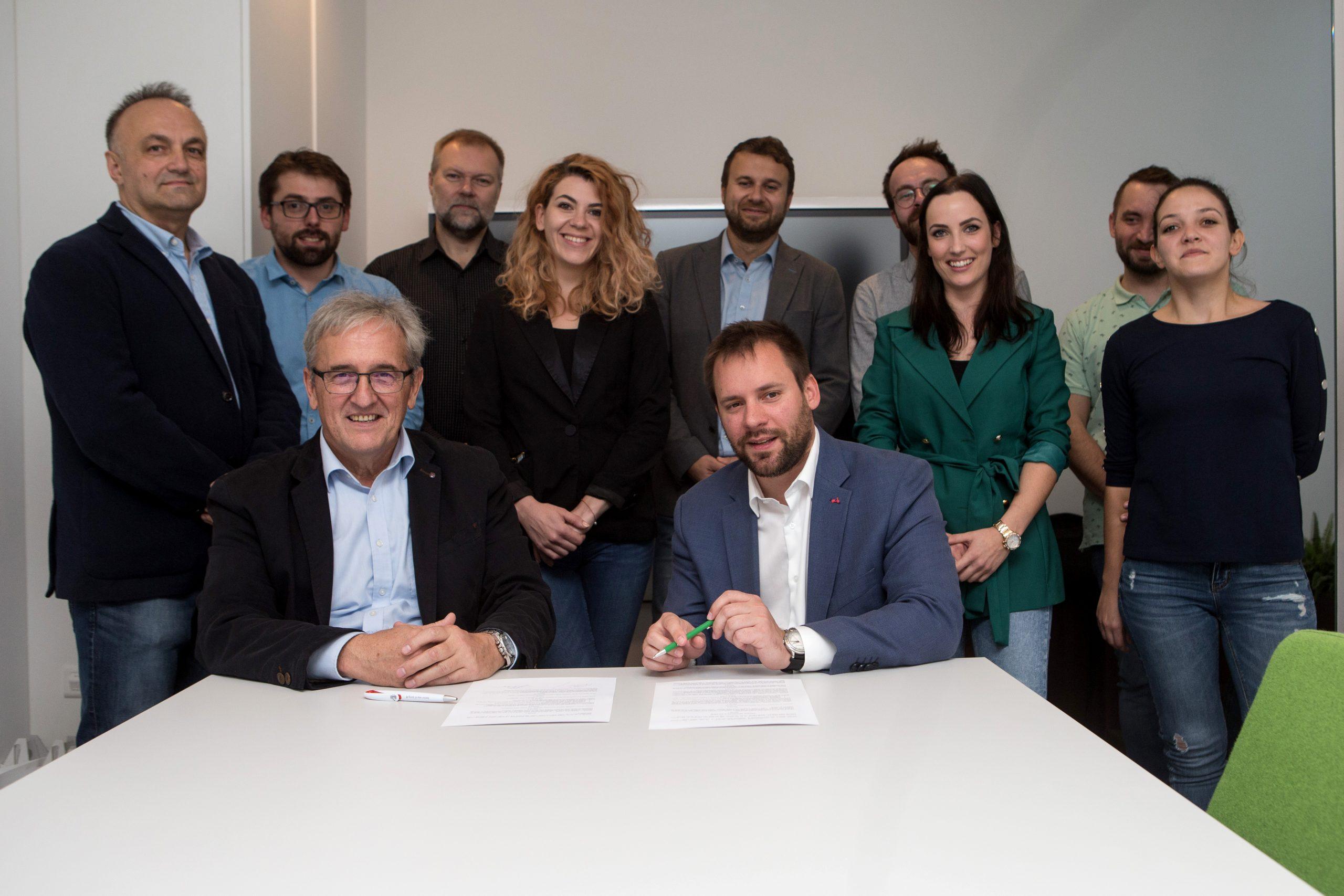 HSM informatika i VSITE potpisali ugovor o suradnji