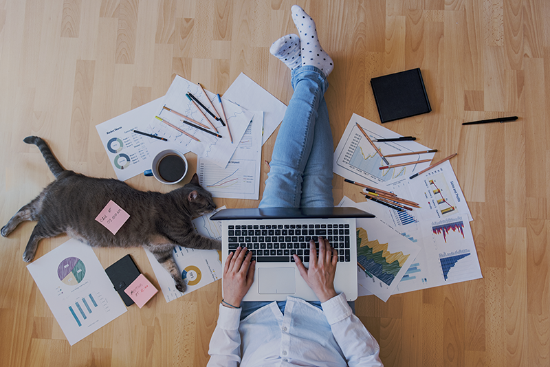 5 tips to stay productive when working from home
