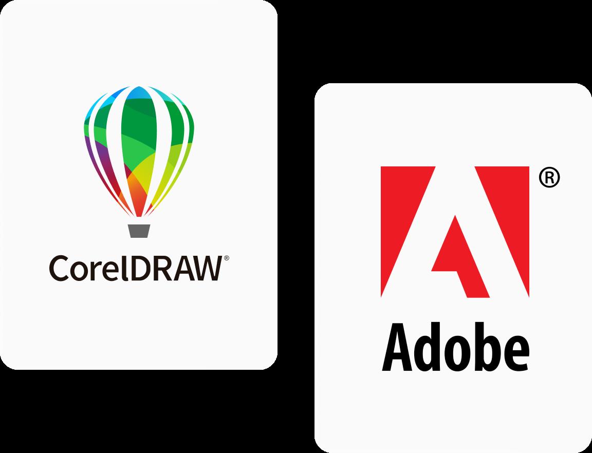 Corel Adobe